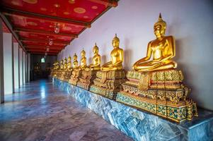 Bangkok, Golden Statues photo