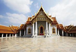 Bangkok. de marmeren tempel.