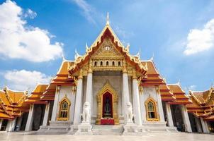 Wat Benchamabophit, Bangkok, Thailand photo