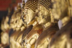 Images of Buddha at Wat Pho or Wat Phra photo
