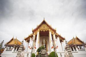 Wat Suthat Thepwararam in Bangkok photo