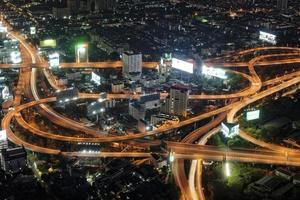 Bangkok Baiyoke Sky veins photo