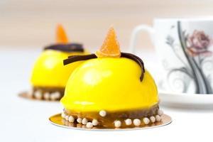 pastel de limón foto