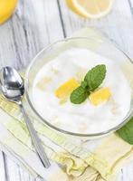 Lemon Yoghurt photo