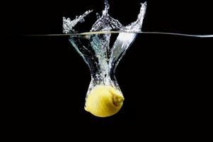 salpicadura de limón
