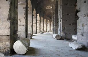 Rome - colosseum archs photo