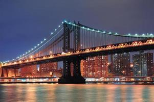 New York City Manhattan Bridge photo