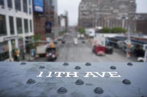 11th Avenue Sign photo
