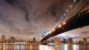 puente de manhattan foto