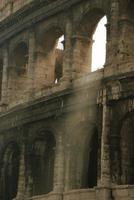 Sun shining through the Arch