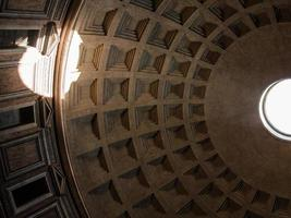 the ceiling of pantheon photo