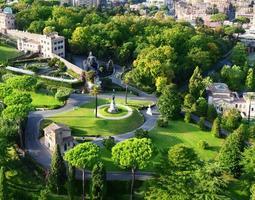 jardines del vaticano, roma