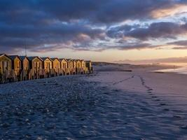 Picturesque sunrise on False Bay beach  - 1 photo