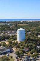 Provincetown, Cape Cod aerial view
