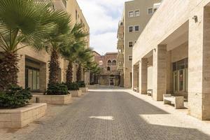las calles estrechas de la antigua jaffa foto