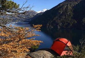 acampar en bariloche foto