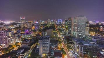 Saigon by night photo