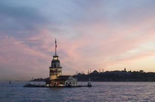 Torre de la doncella en Estambul, Turquía