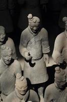 Die Terrakotta Armee von Xian en China foto