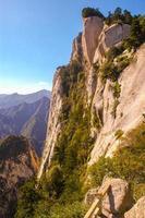 Huashan (montaña huashan)-pico este foto