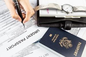 passeport urgent