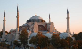 Blue Mosque and Hagia Sophia