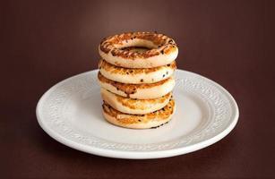 bagel turc, (kandil simiti)