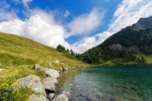 lago di campo - adamello trento italia