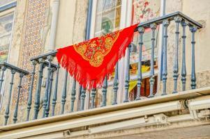 Manila Shawl in Lisbon, Portugal photo