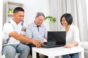 Asian family photo