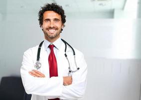 Doctor portrait photo