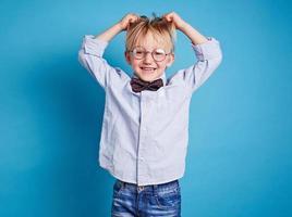 Ecstatic child photo