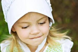 Amish child photo