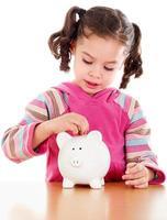ahorro infantil para un día lluvioso