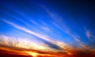 Sunset lines photo