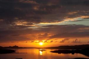 autumn sunset photo