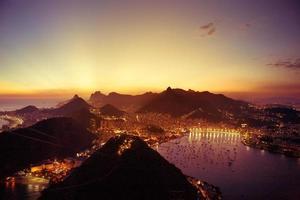 Sugar Loaf view of Rio photo