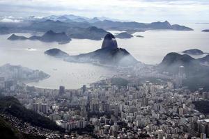 Panoramic view over Rio de Janerio photo