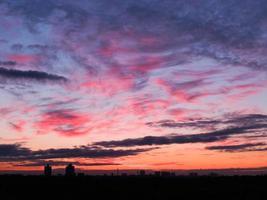puesta de sol 6 foto
