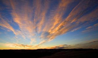 Spreading sunset photo