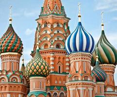 Famous Head of St. Basil's Cathedral photo