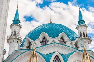 The Kul Sharif Mosque in Kazan Kremlin, Tatarstan, Russia