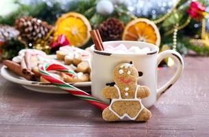 Gingerbread people biscuits