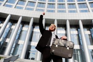 Successful businessman photo