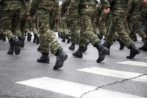 botas militares foto