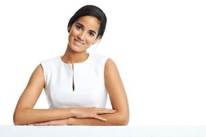 business copyspace woman