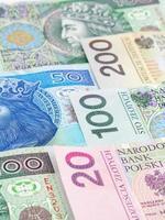 Polish money photo