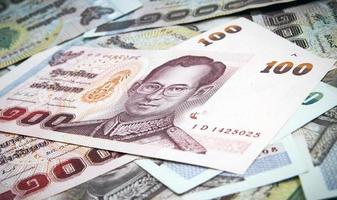 dinero tailandés foto