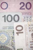 dinero polaco foto