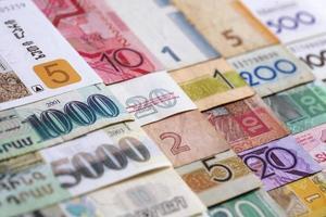 dinero macro foto